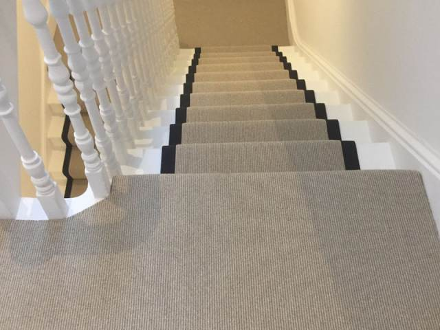 Stair Runner Carpet Installation In Docklands