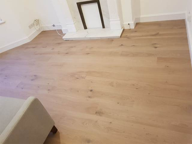Engineered Wood Flooring Installation In Hampstead
