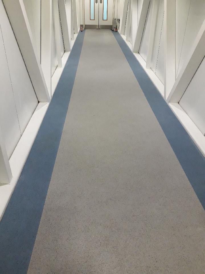 Nora Rubber Flooring Stansted Airport The Flooring Group