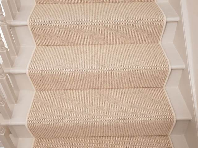 Light Stair Runner Installed In Mortlake