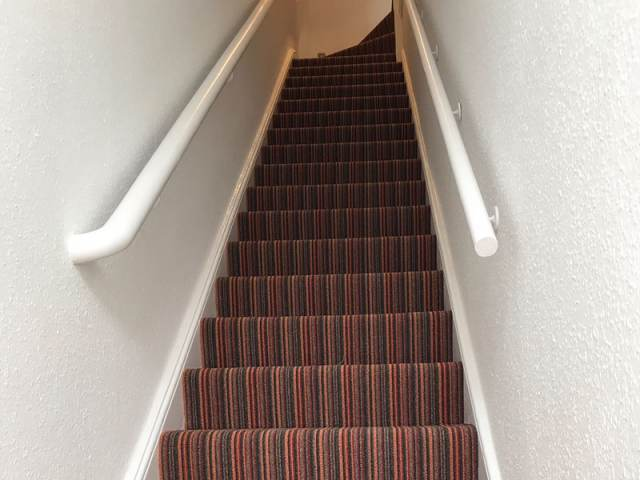 Florco Stripe Carpet Fitted In Chelsea Residence