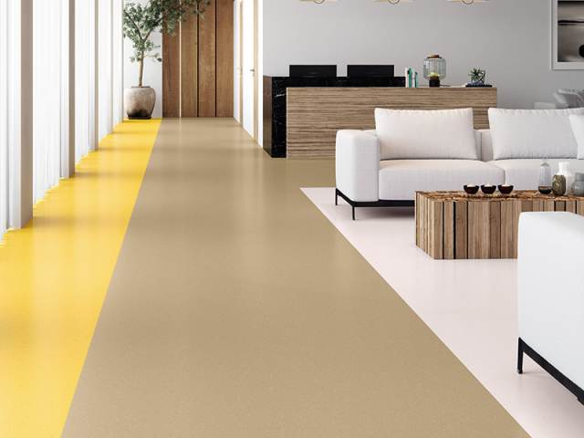 Polyflor – China Clay 8623, Buttered Corn 8656, Blossom Air 8625