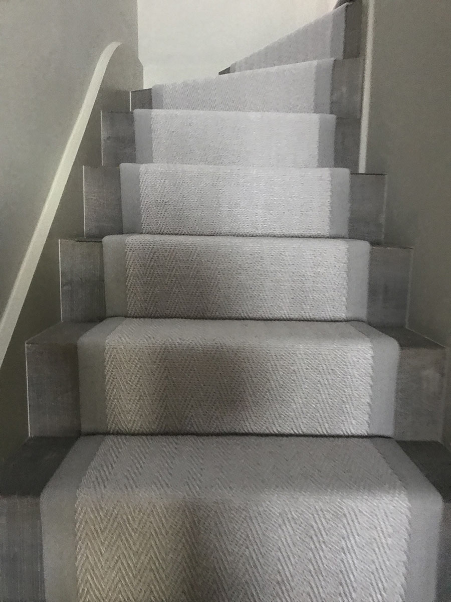 portfolio carpets Stair Carpet Installed In Wimbledon (1)