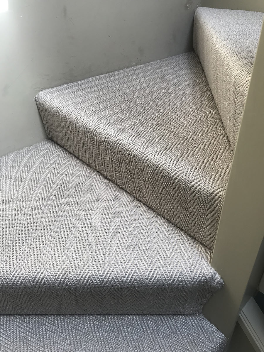 portfolio carpets Stair Carpet Installed In Wimbledon (10)