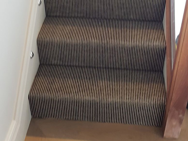 Sisal Stair Carpet Fitted In Westminster
