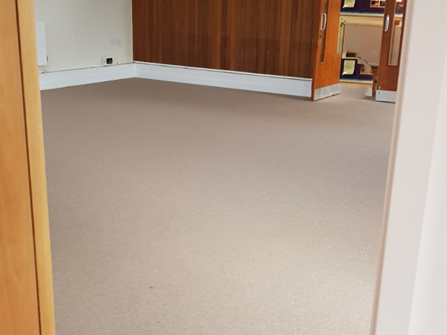 Wool Carpet Fitted In Whitechapel Residence