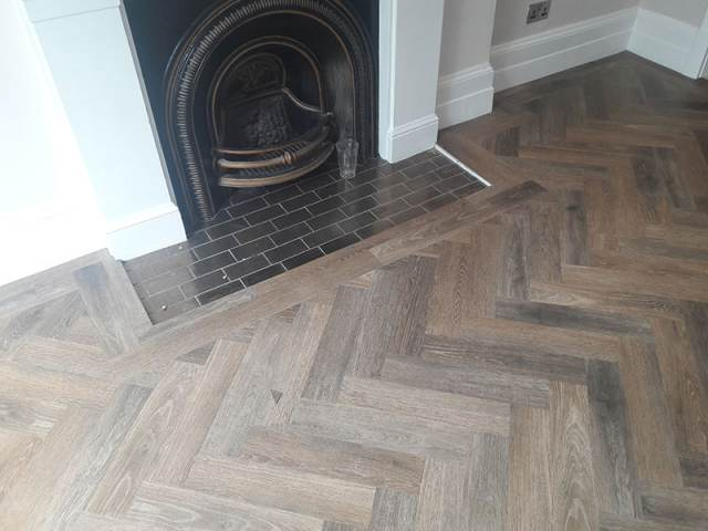 Amtico Parquet Design Fitted In Earlsfield