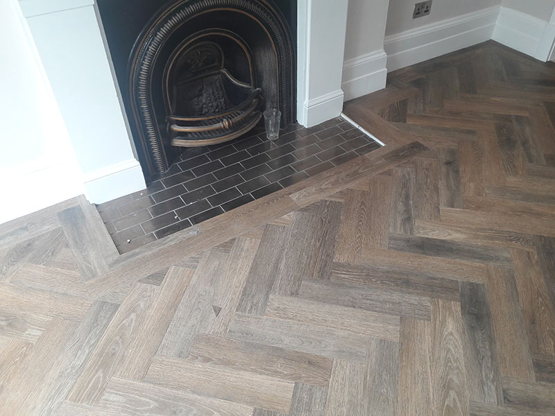 Amtico Parquet Design Fitted In Earlsfield The Flooring