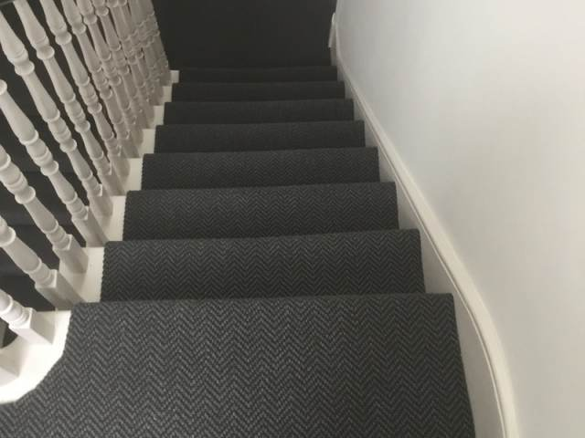 Sisal Staircase Installation In Finchley