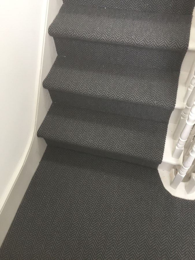 portfolio carpets grey-sisal-carpet-installation-finchley (13)