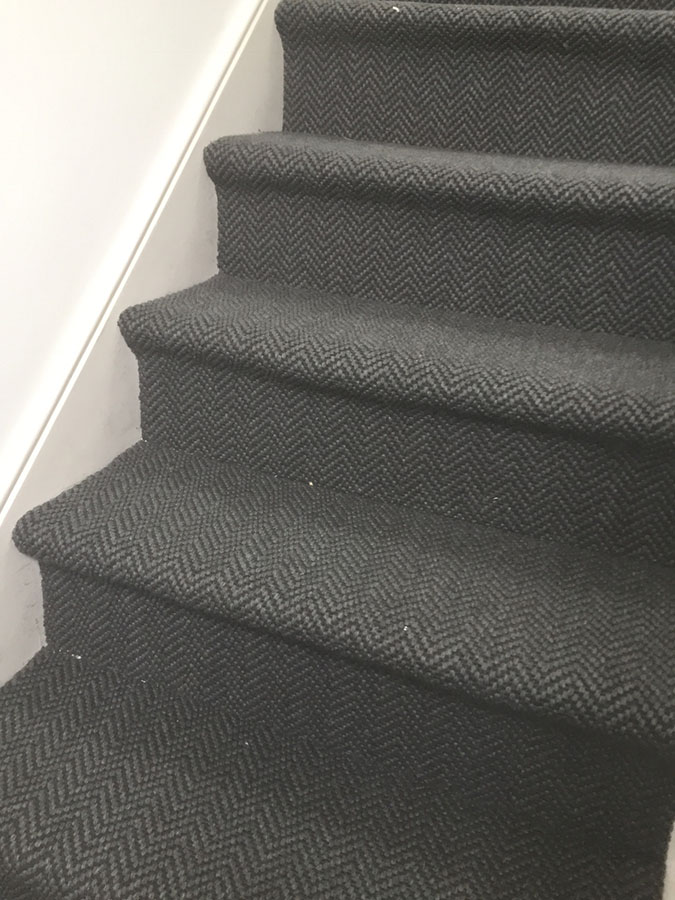 portfolio carpets grey-sisal-carpet-installation-finchley (7)