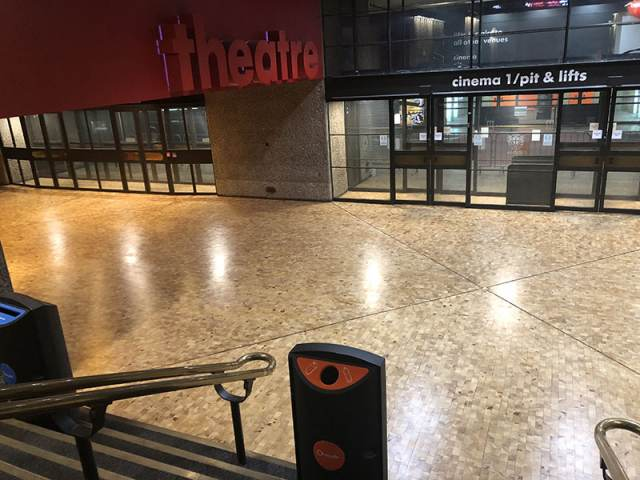 Floor Sanding And Sealing At The Barbican Centre