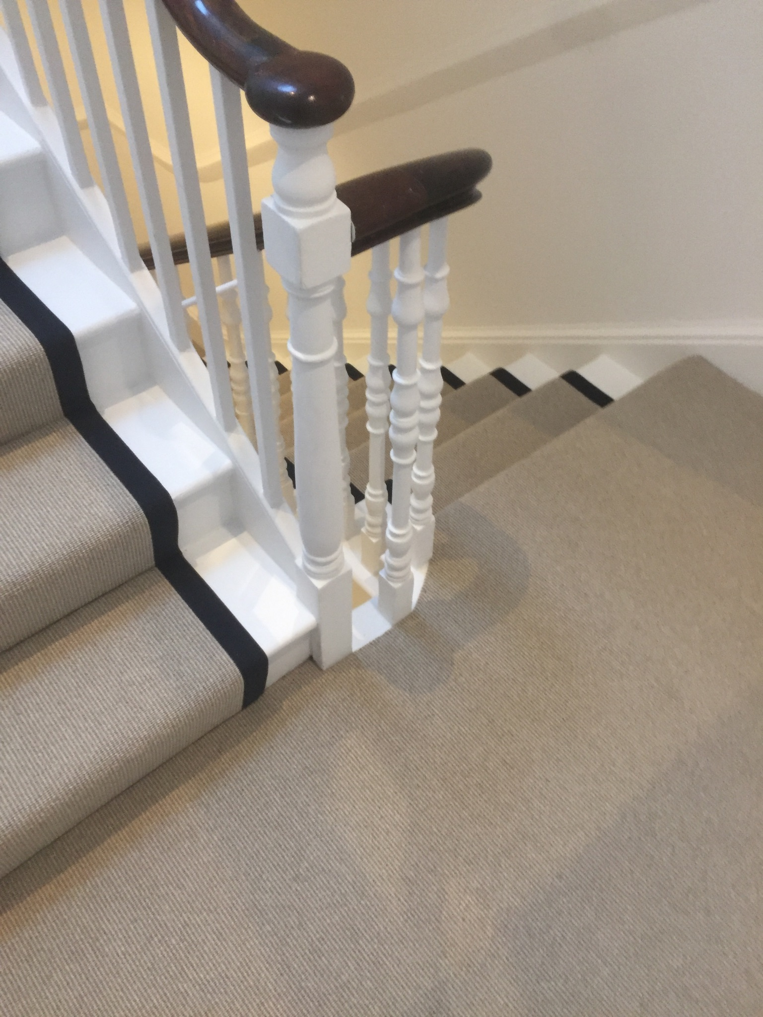 portfolio Carpet Runner With Black Binding Installed In Clerkenwell (3)