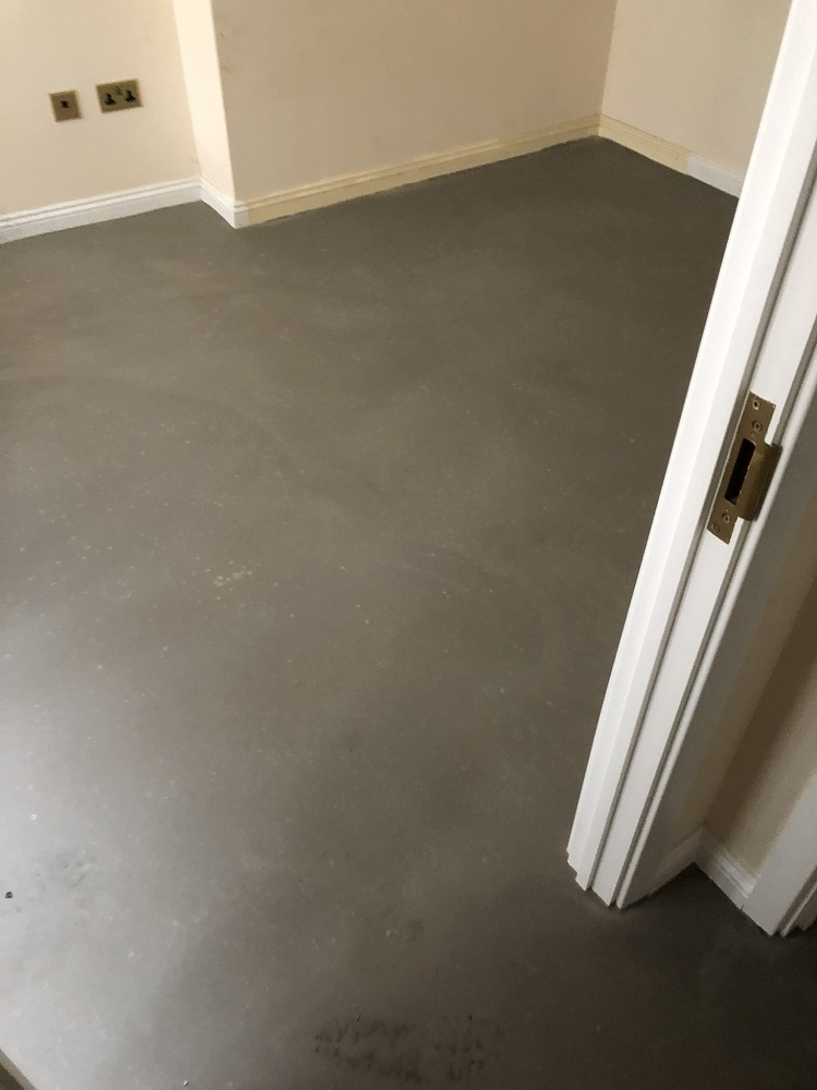 portfolio Grey Sheet Vinyl Flooring Installation in Acton (3)