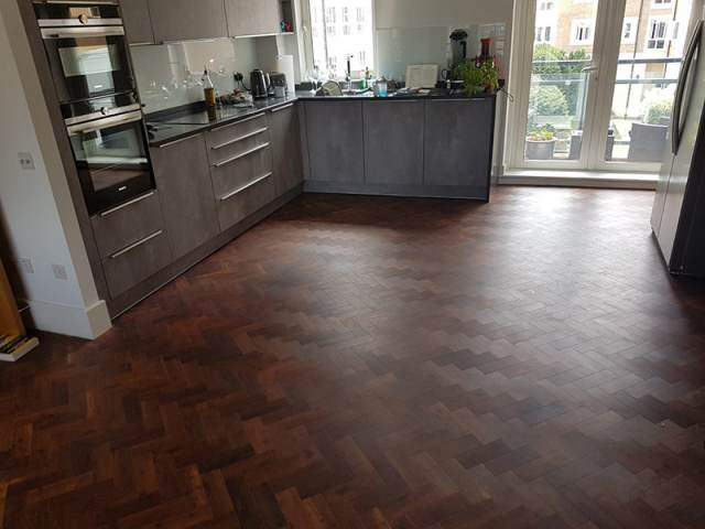 Amtico Flooring Installation To Kitchen In Westminster