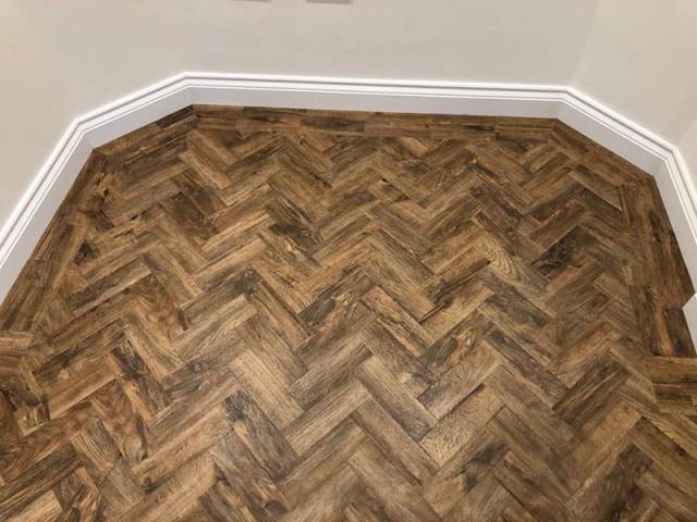 Amtico Wood Design Flooring Installed In Kensington