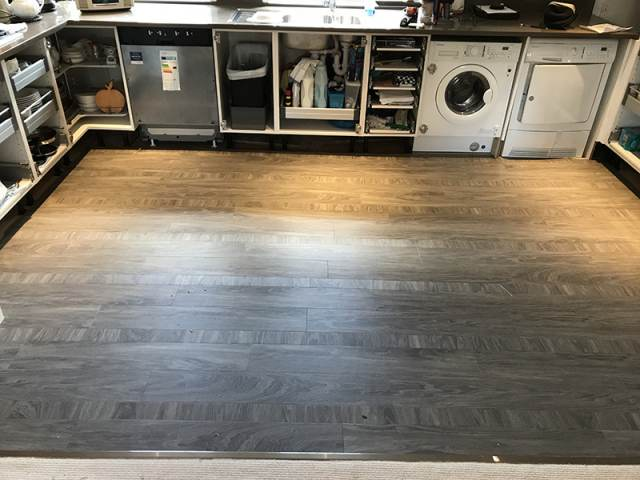 Amtico Flooring Installation In Clapham