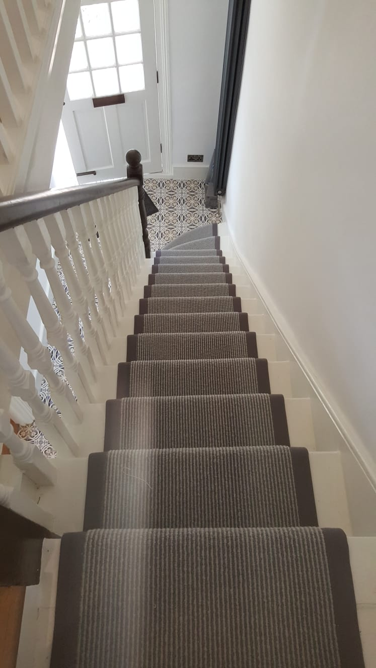 Stair Carpet Installation In Wandsworth The Flooring Group