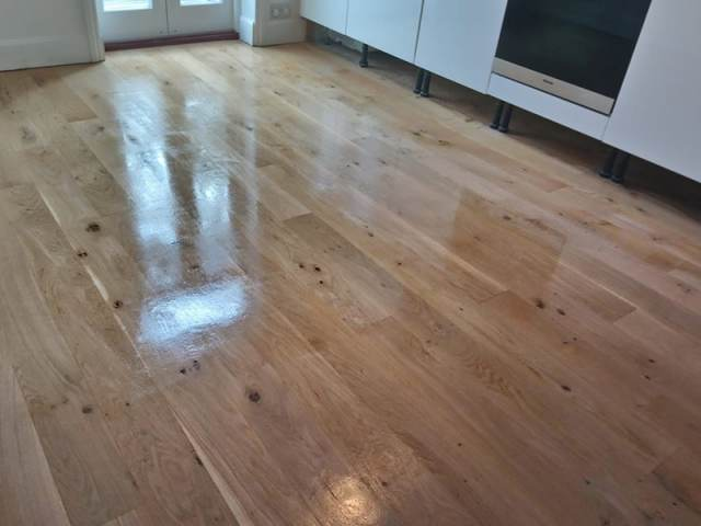 Wood Floor Sanding In Chelsea