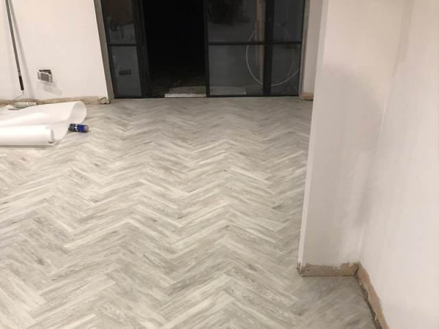Amtico Flooring Installed In Temple Fortune