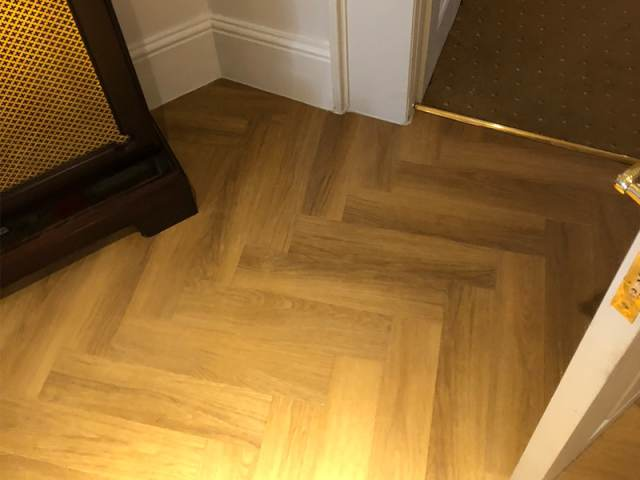 Amtico Spacia Installed In Knightsbridge