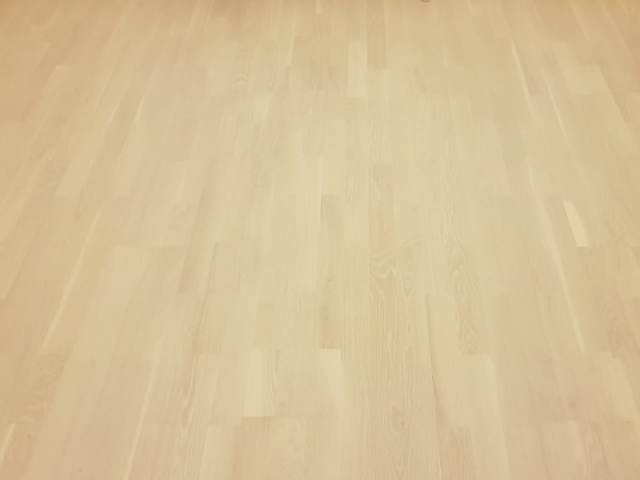 Oak Wood Flooring Installed In Docklands