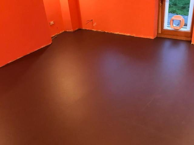 Marmoleum Installed In Notting Hill
