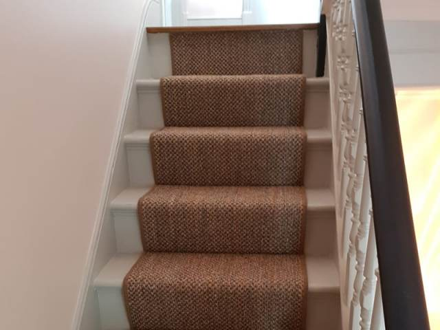 Sisal Runner Installation In Shepherds Bush