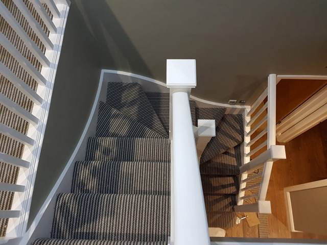 Stair Carpet Installation In Southwark