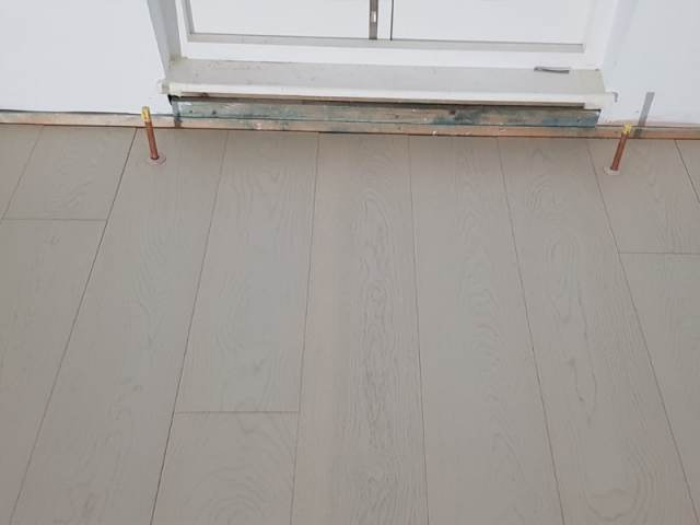 Engineered Wood Flooring Installed In Belgravia