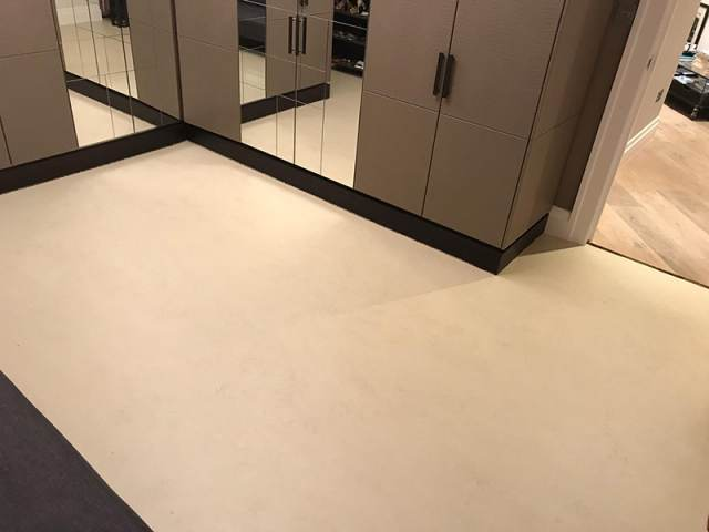 Marmoleum Flooring Installed In Kilburn