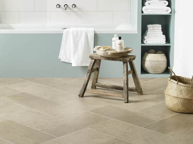 Amtico – Silt in Herringbone Pattern