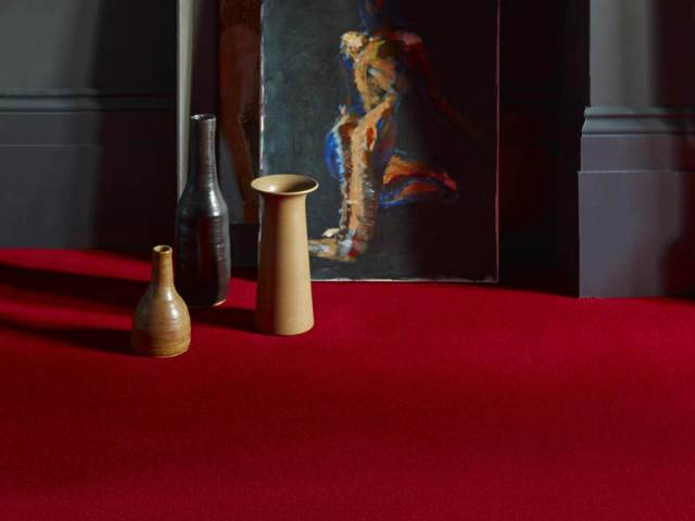 Brintons – Finepoint Rothko Red
