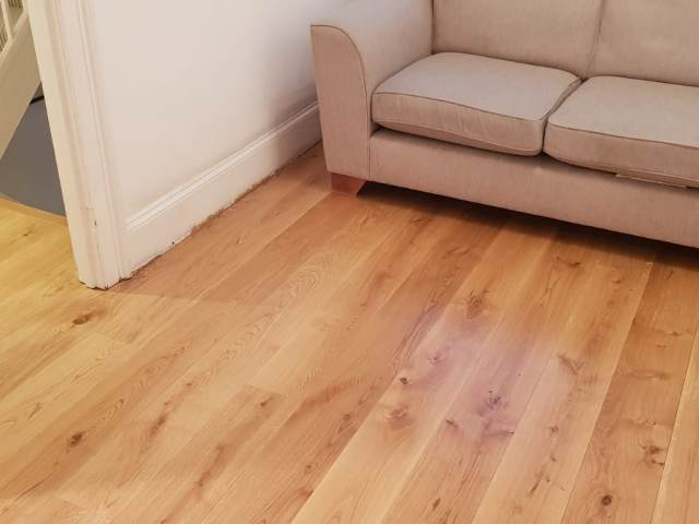Staki Flooring Installed In Clerkenwell