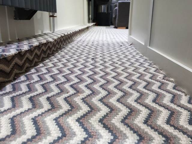 Hugh Mackay Carpet Installed In Kings Cross