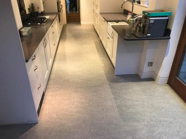 Marmoleum Installed In Vauxhall