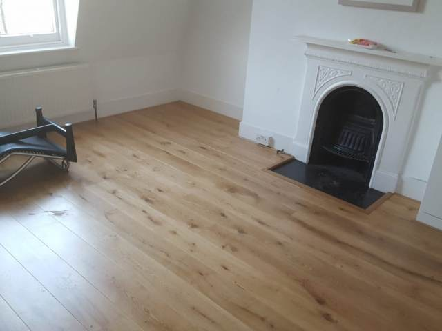Staki Flooring Installed In Islington