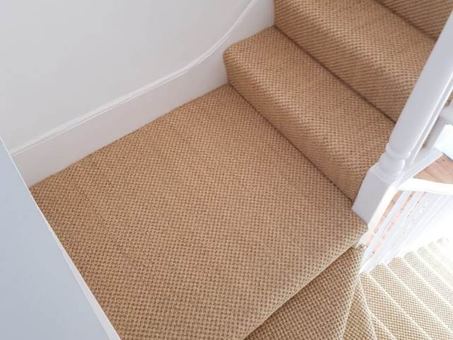 Sisal Carpet Installed In Temple Fortune