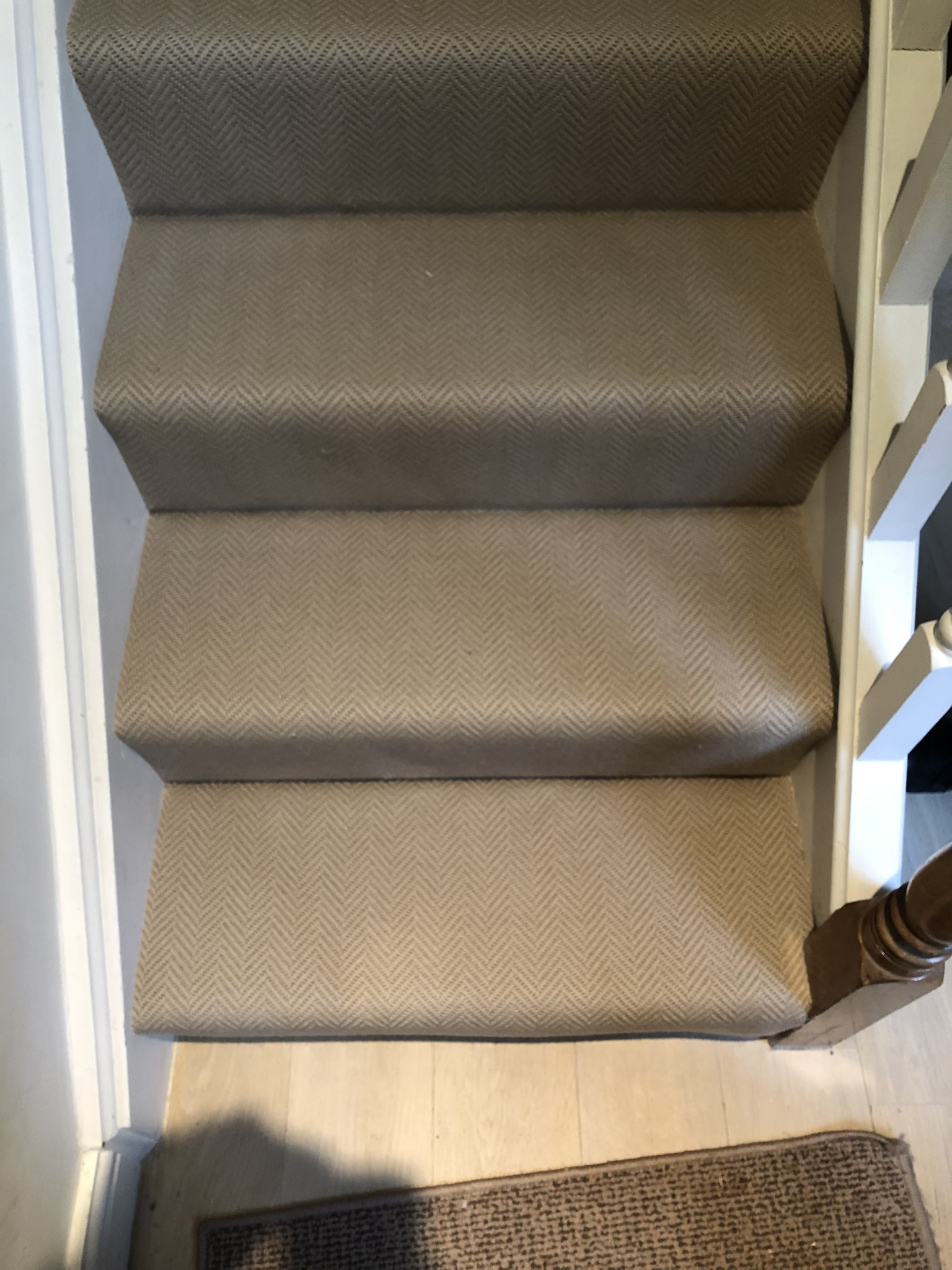 Carpet Installed To Stairs In Farringdon