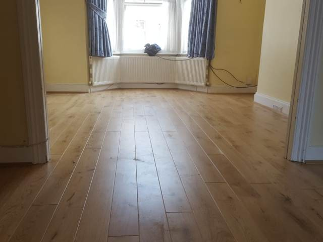 Wood Floor Installed In Mortlake