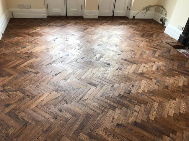 Wood Block Floor Installation In Southwark