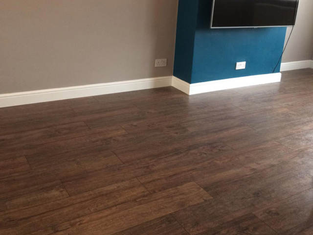 Haro Laminate Flooring Installed In Barnes