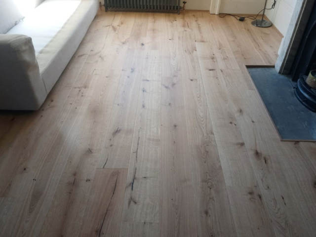 Kersaint Cobb Wood Flooring Installed In Marylebone