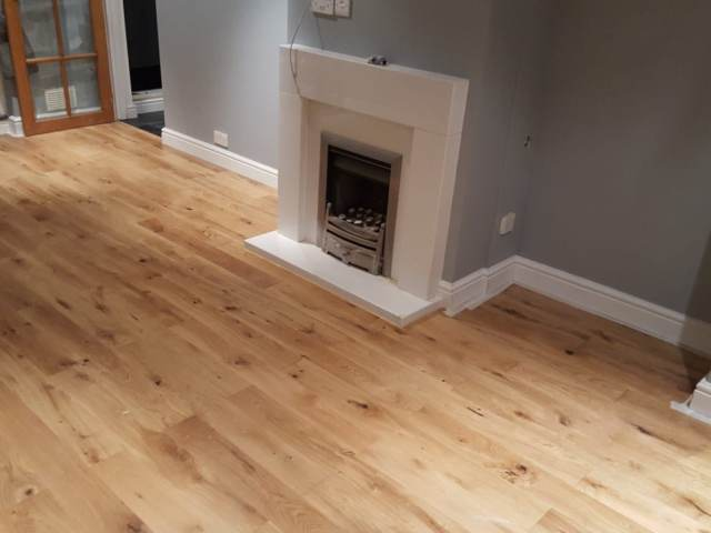 Oak Wood Floor Installed In Knightsbridge