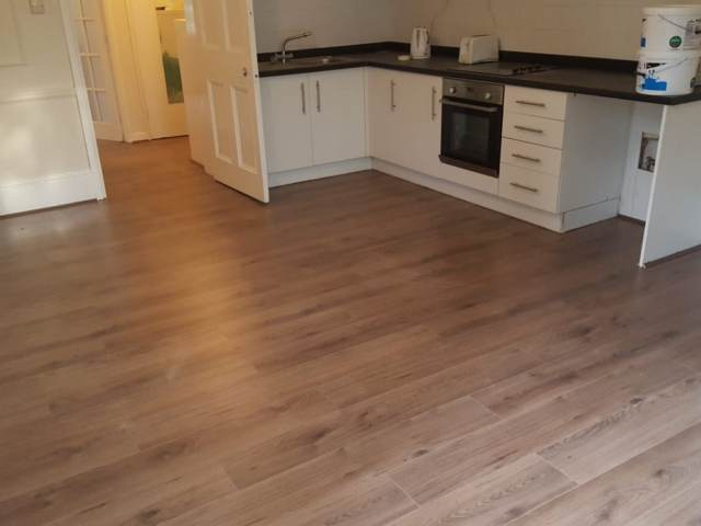 Oak Flooring Installed In Southwark