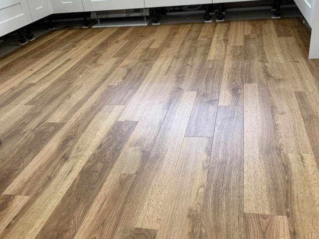 Amtico Classic Oak Installed In Raynes Park