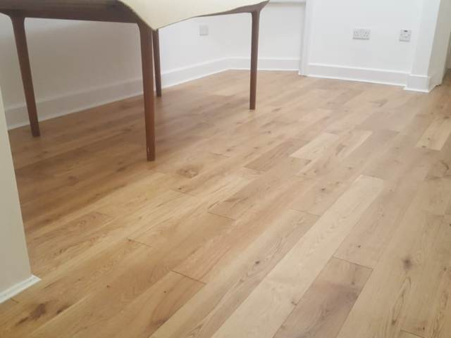 Furlong Wood Flooring Installed In Chalk Farm