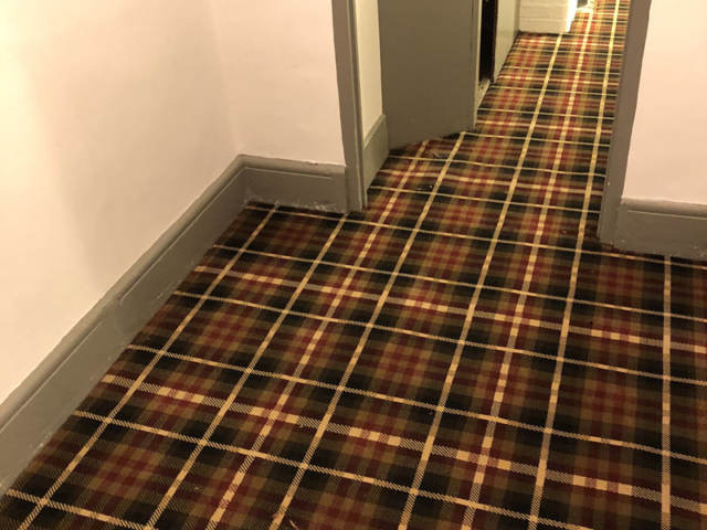Patterned Carpet Installed In Canada Water