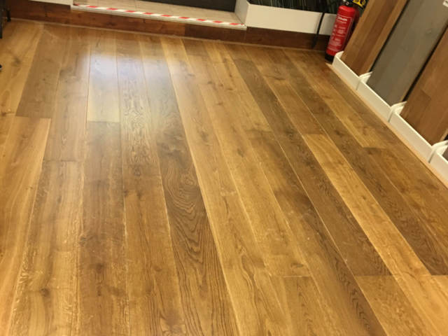 Staki Wood Flooring Installed In Our Hampstead Store