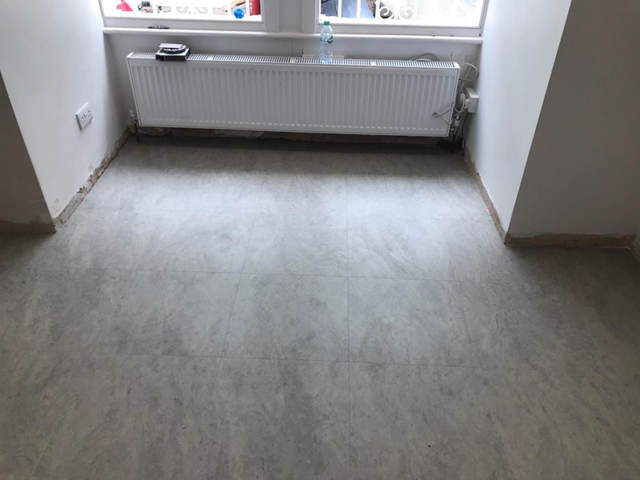 Amtico Signature Stria Ash Installed In Croydon